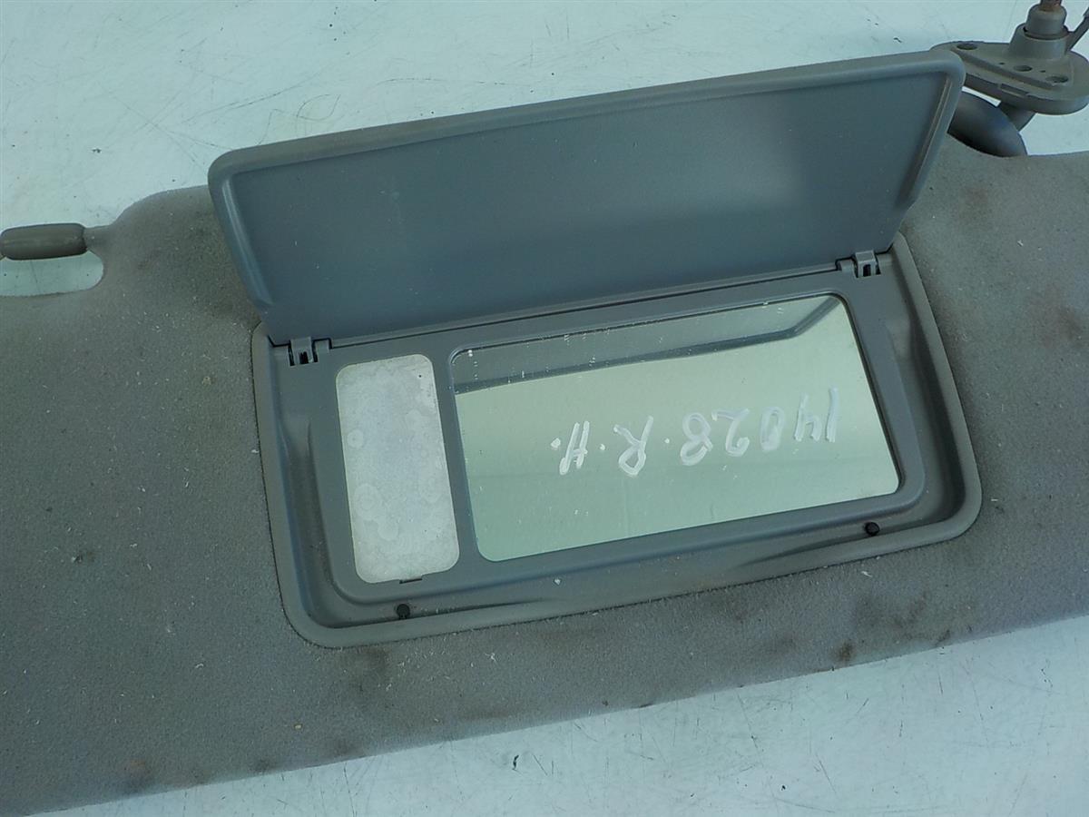 2007 Acura RL Passenger Sun Visor Gray Replacement