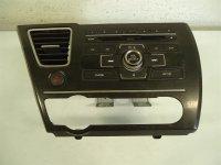 2013 Honda Civic DASH RADIO UNIT Replacement