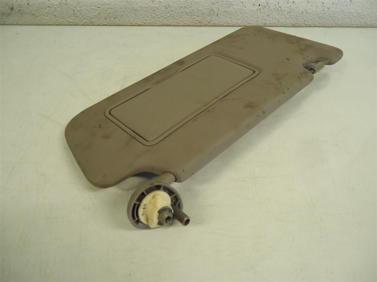 2013 Honda Civic Passenger Visor Gray Super Dirty Replacement