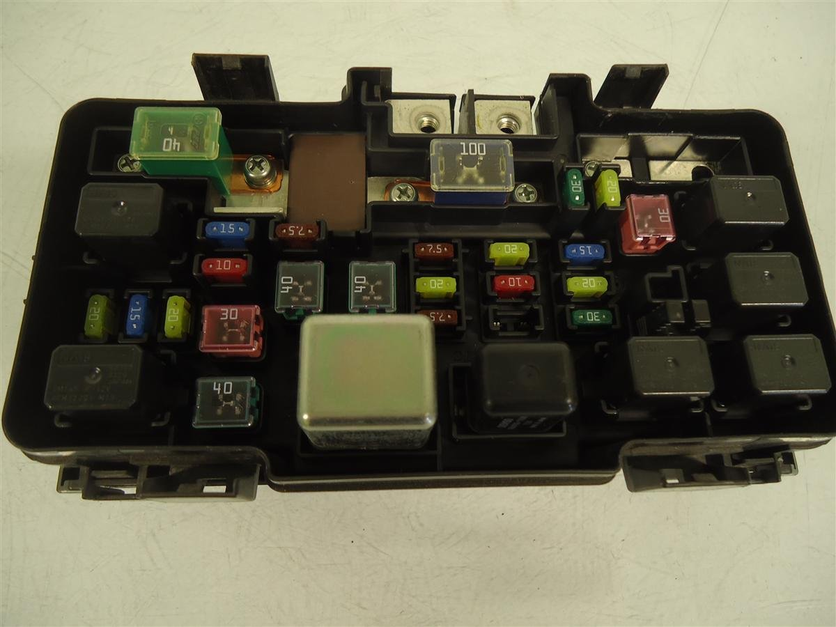 2005 Acura RSX Engine Fuse Box Replacement ...