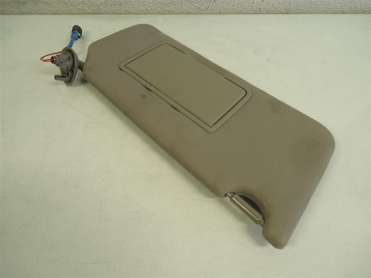2013 Honda Accord Passenger Roof Sun Visor Gray Replacement
