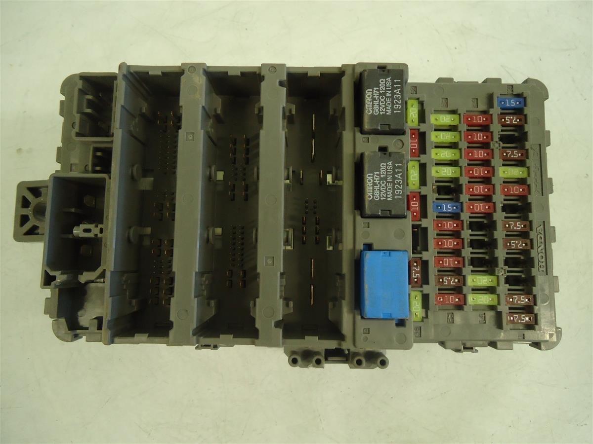 Honda Element Multiplex Fuse Box : Honda accord dash fuse relay box multiplex