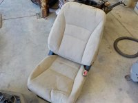 2014 Honda Accord Passenger Seat Cloth Tan Manual 4dr Replacement