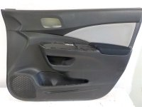 2015 Honda CR V Front Passenger Door Panel Black Replacement