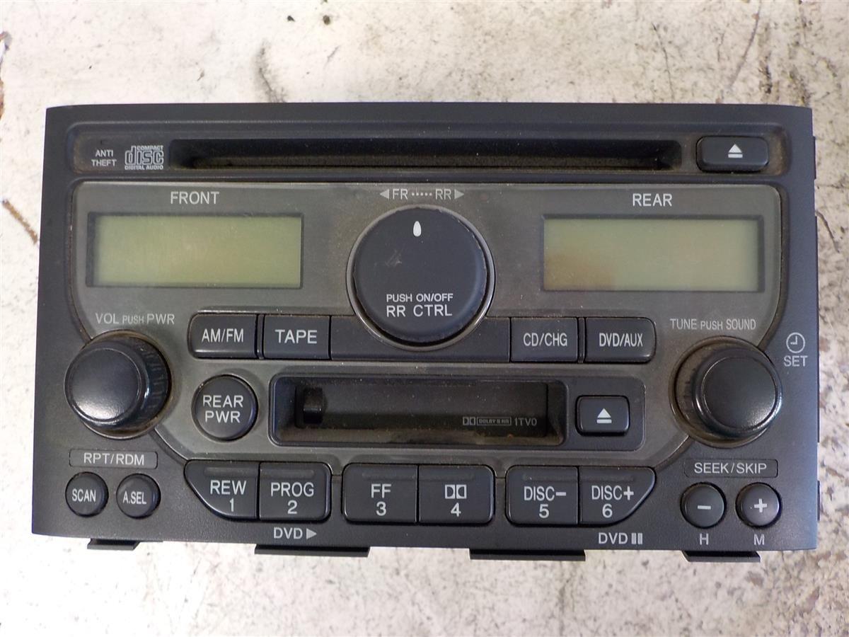 2003 Honda Pilot Exl Am Fm Radio Replacement