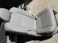 2014 Acura MDX 2ND ROW Passenger SEAT GRAY LEATHER Replacement
