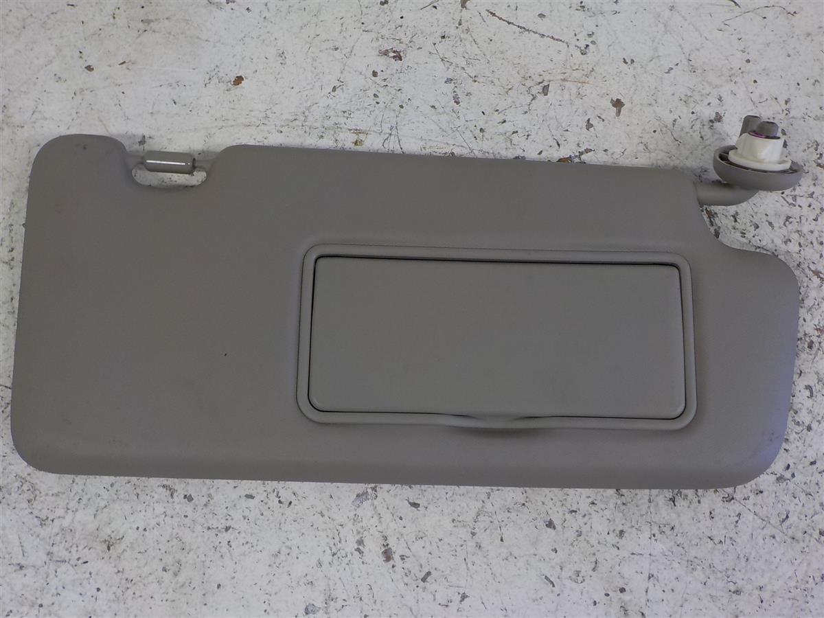 2014 Honda Civic Passenger Sun Visor Gray 1a96b551603