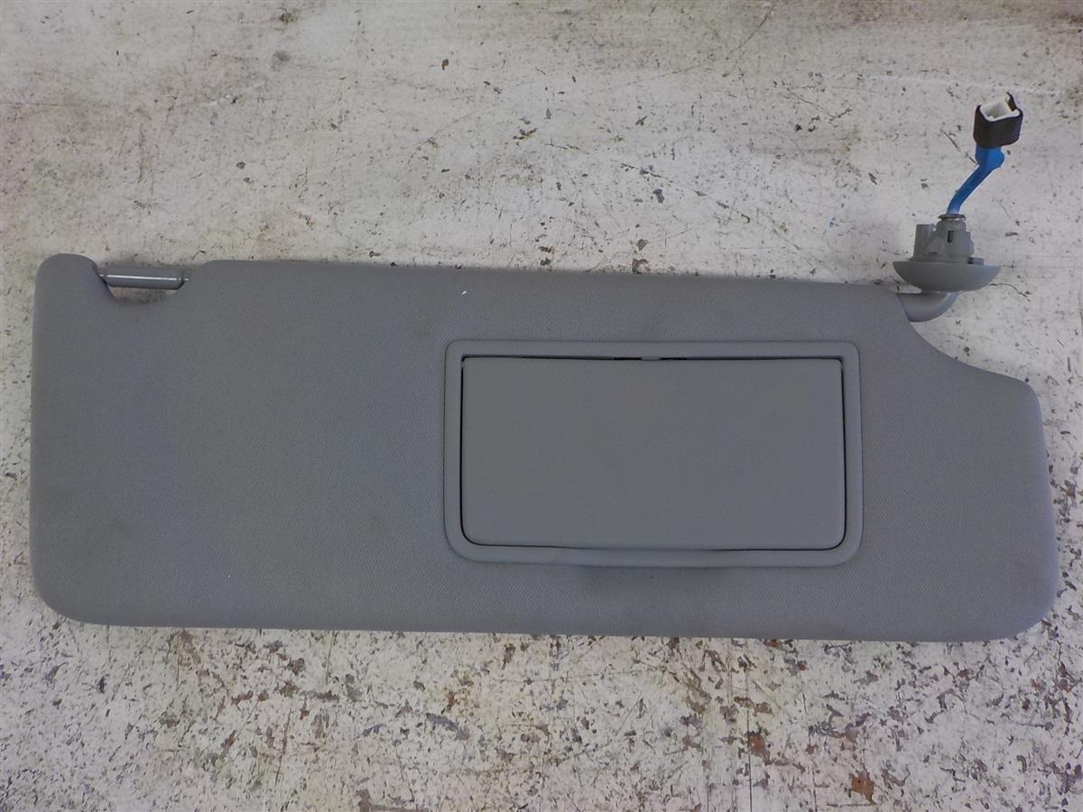 2014 Acura MDX Passenger Sun Visor Gray Replacement