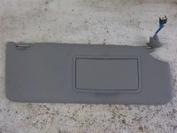 2014 Acura MDX Passenger SUN VISOR GRAY Replacement