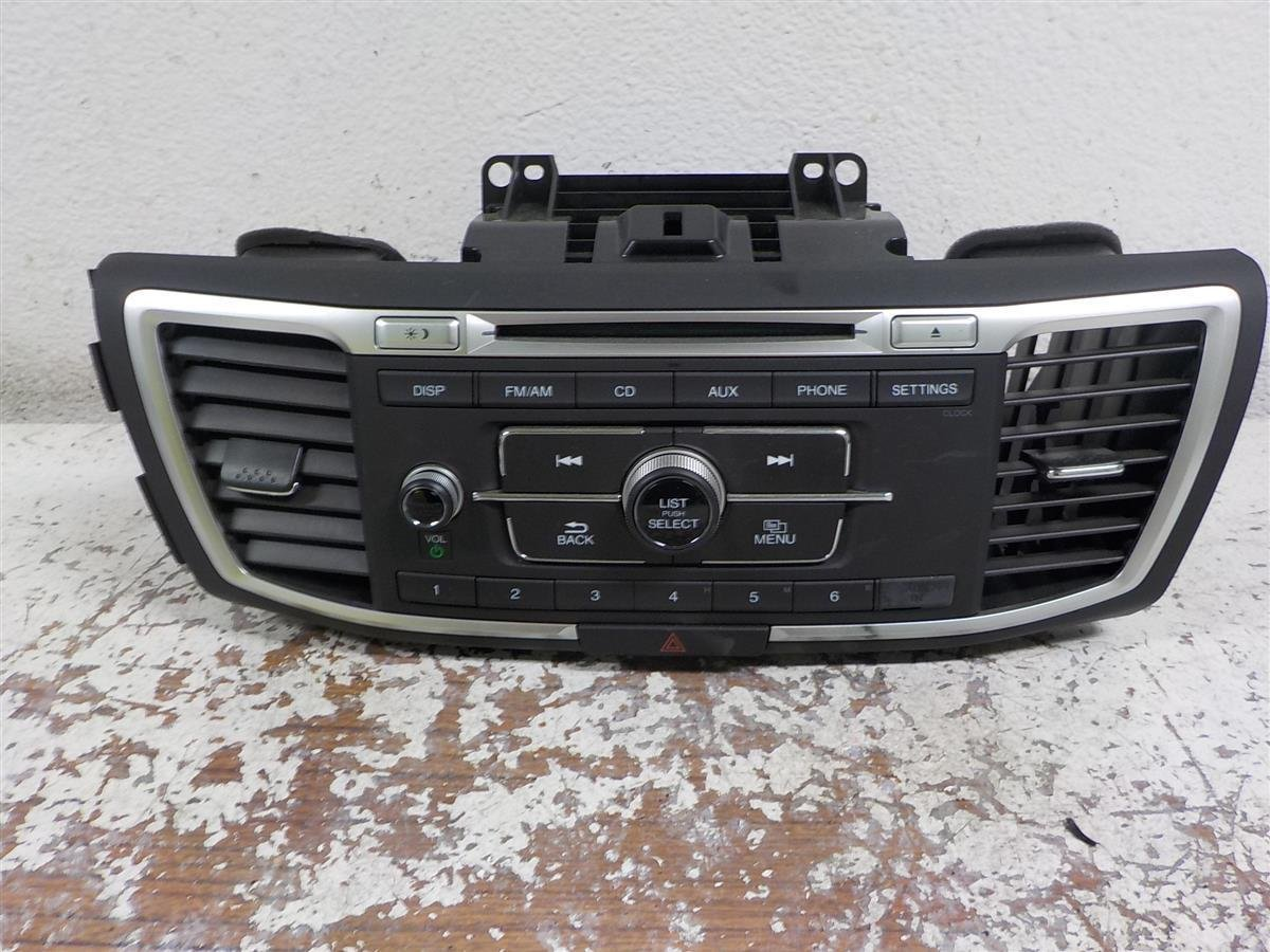 2016 Honda Accord AM FM CD SEDAN LX 39100 T2F A01CP 39100T2FA01CP Replacement
