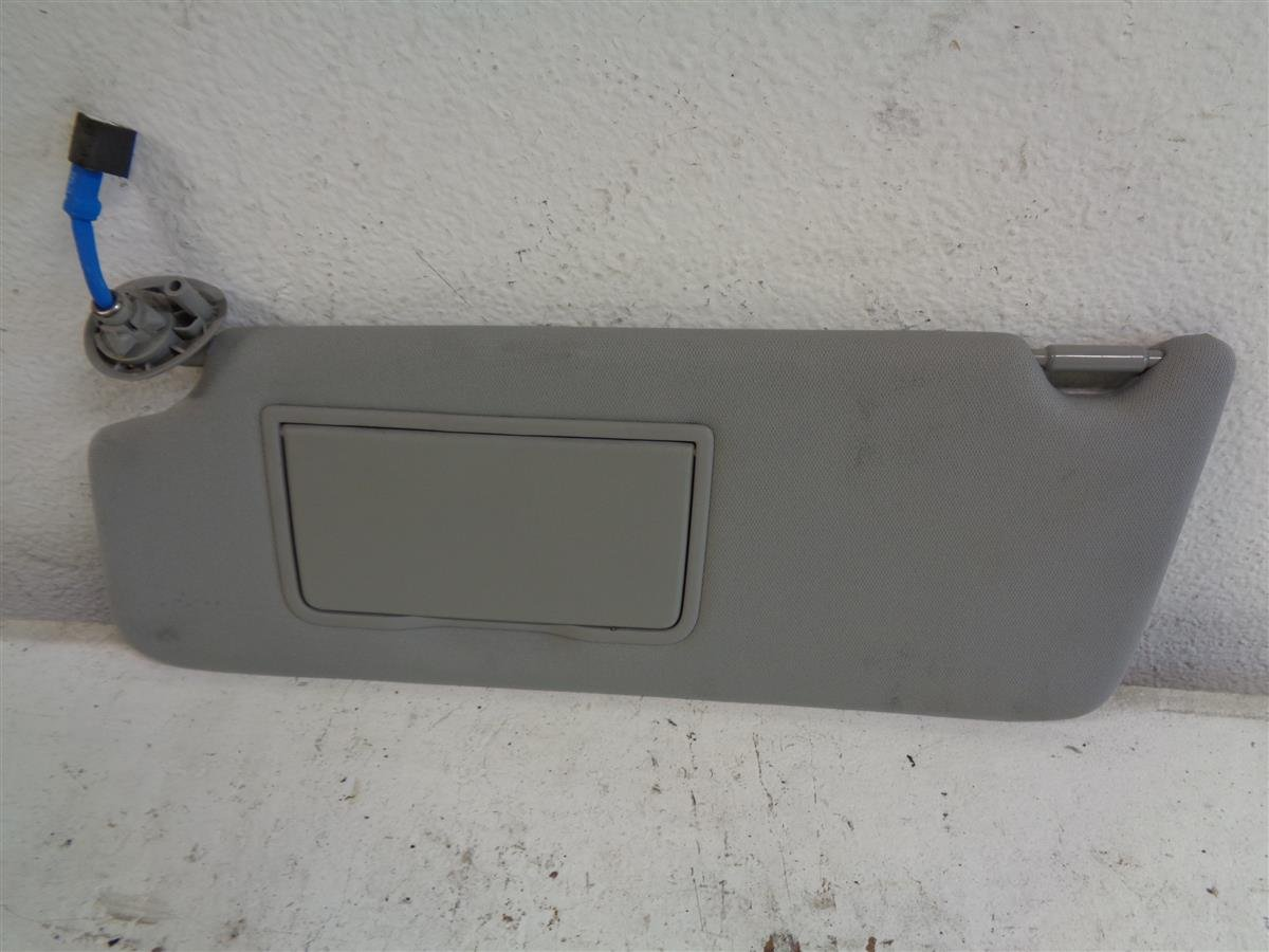 2014 Acura MDX Driver Sun Visor Gray Replacement