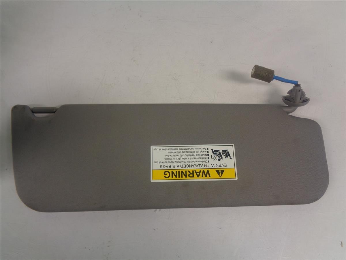 2018 Honda Odyssey Driver Visor Gray Elite 83280 THR A01ZB Replacement