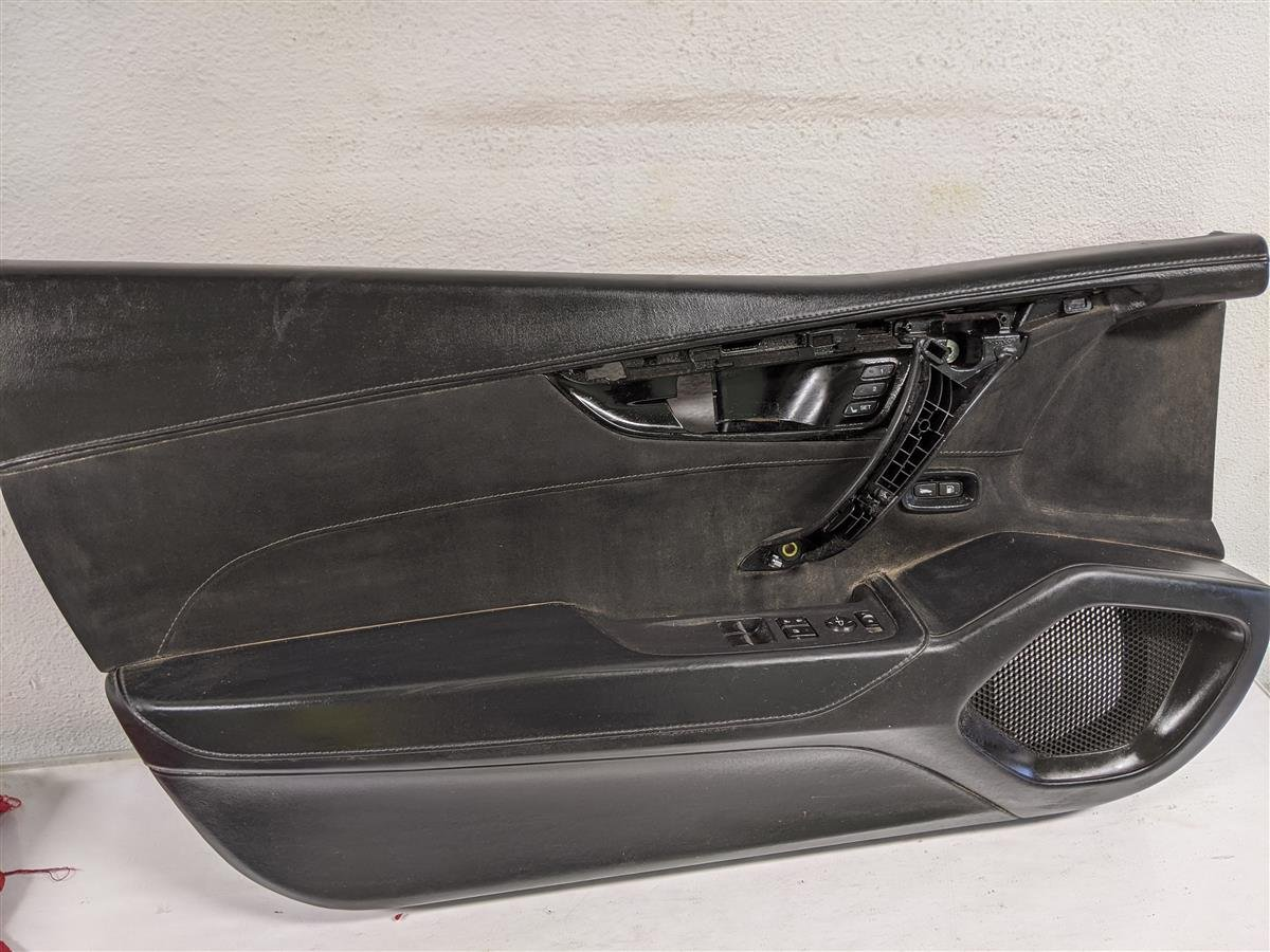 2017 Acura NSX Driver Door Panel Trim Black Replacement
