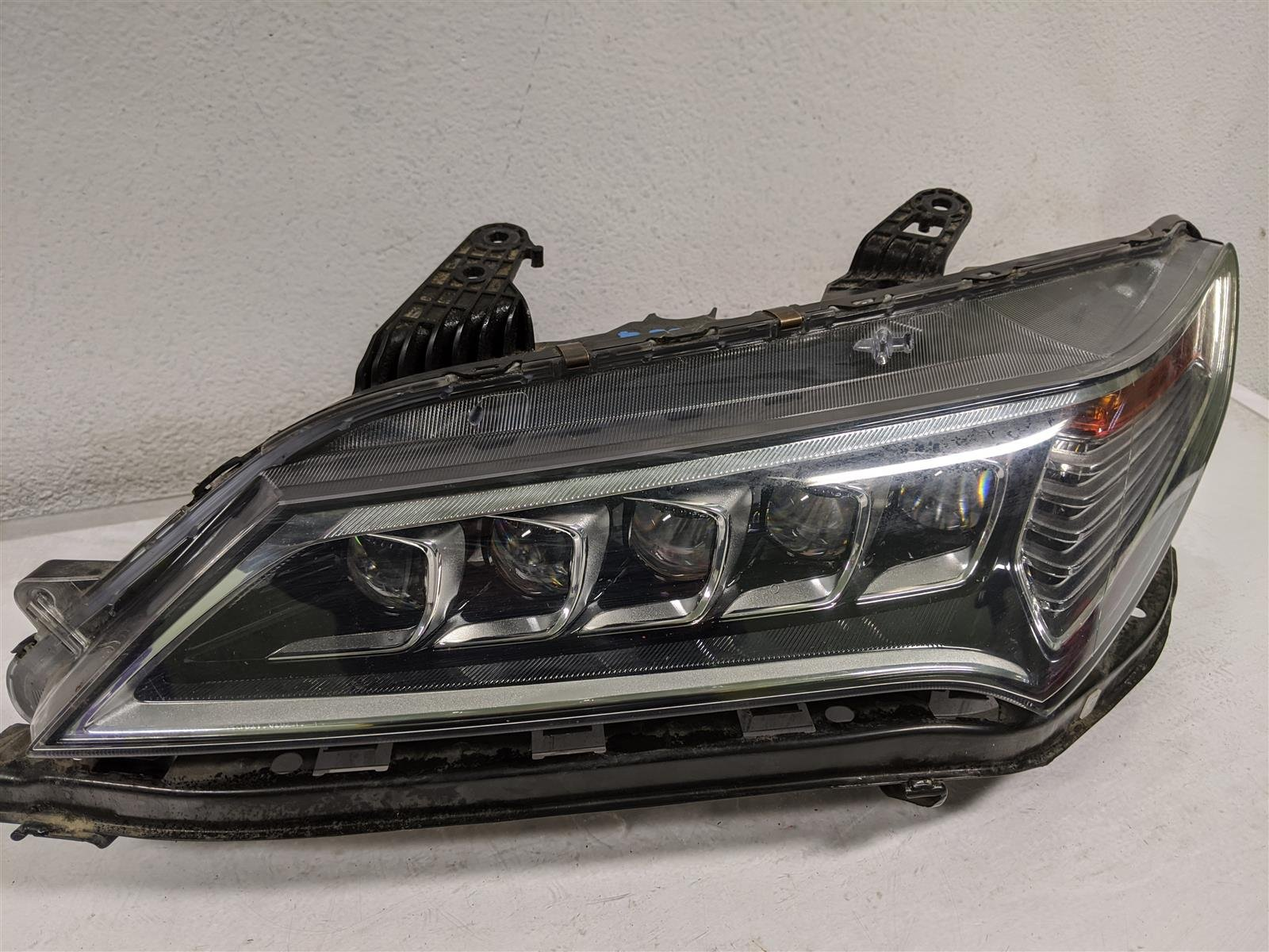 2015 Acura TLX Driver Headlight Lamp Replacement