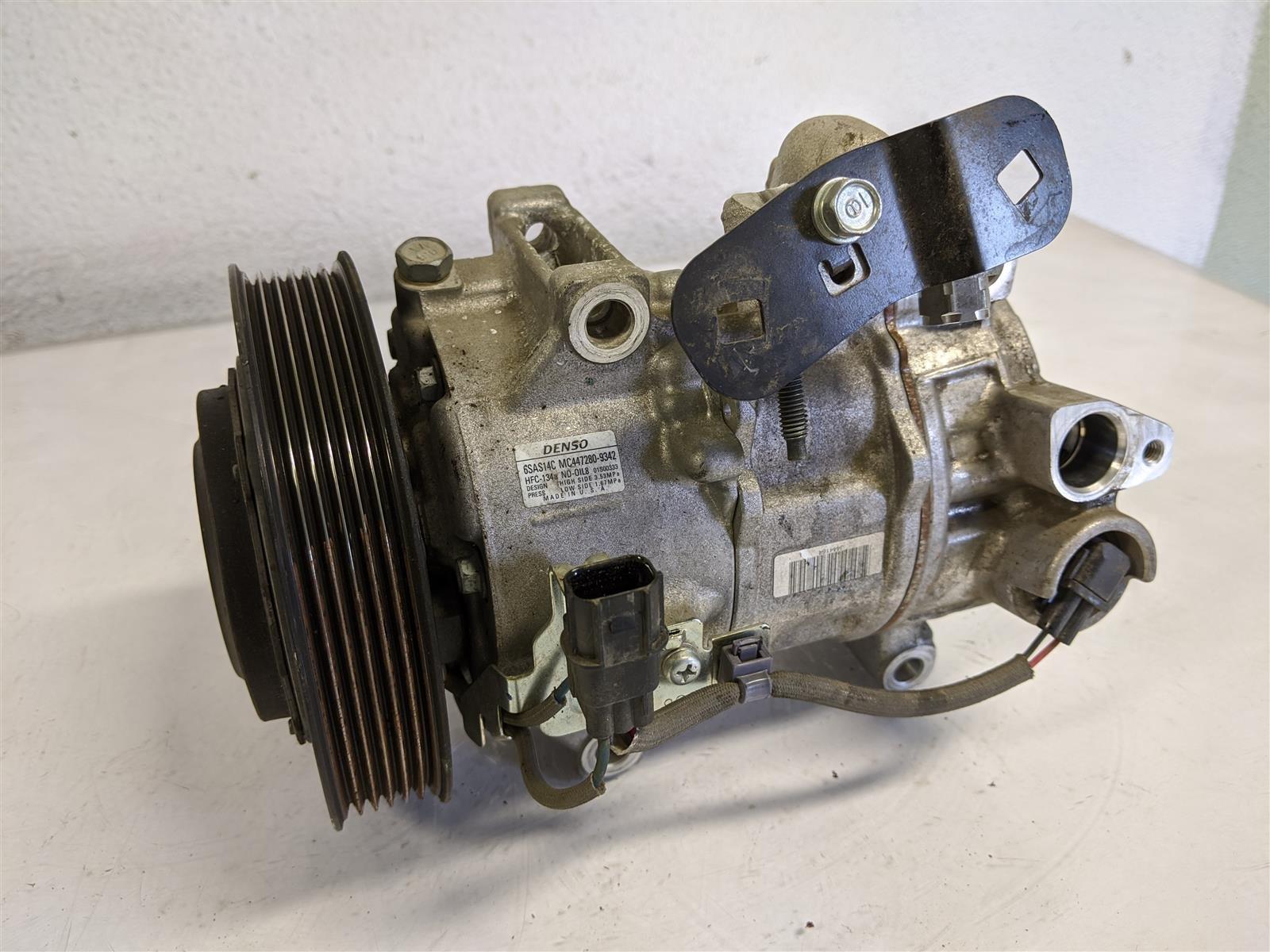 2015 Acura TLX 3.5l Ac Compressor Replacement