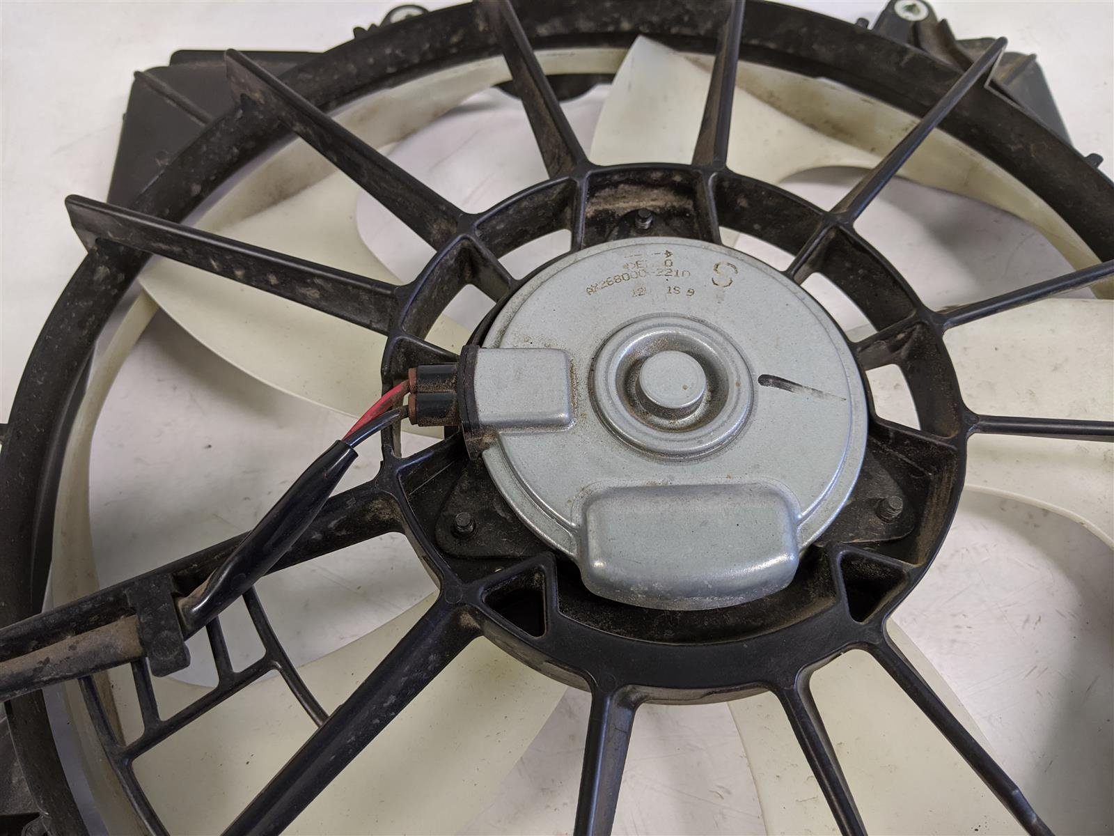 2015 Acura TLX 3.5l Driver Radiator Fan Assembly Replacement