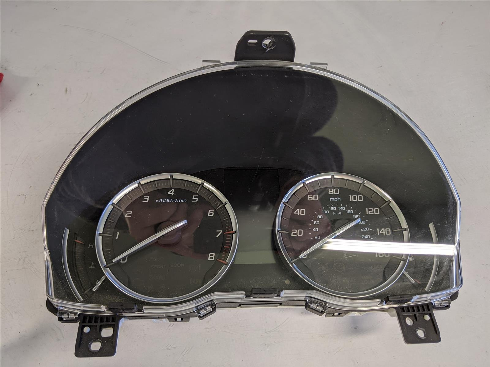 2015 Acura TLX 3.5l 2wd Speedometer Cluster Replacement