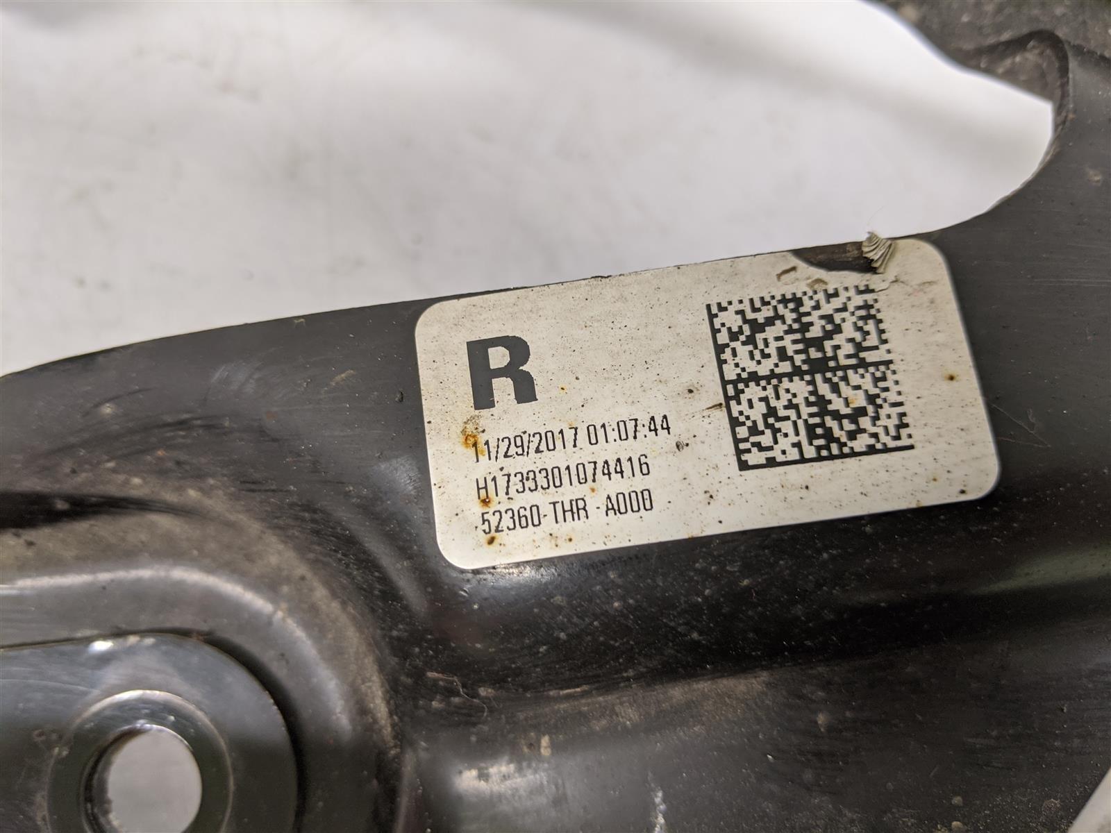 2018 Honda Odyssey Passenger Trailing Arm Replacement