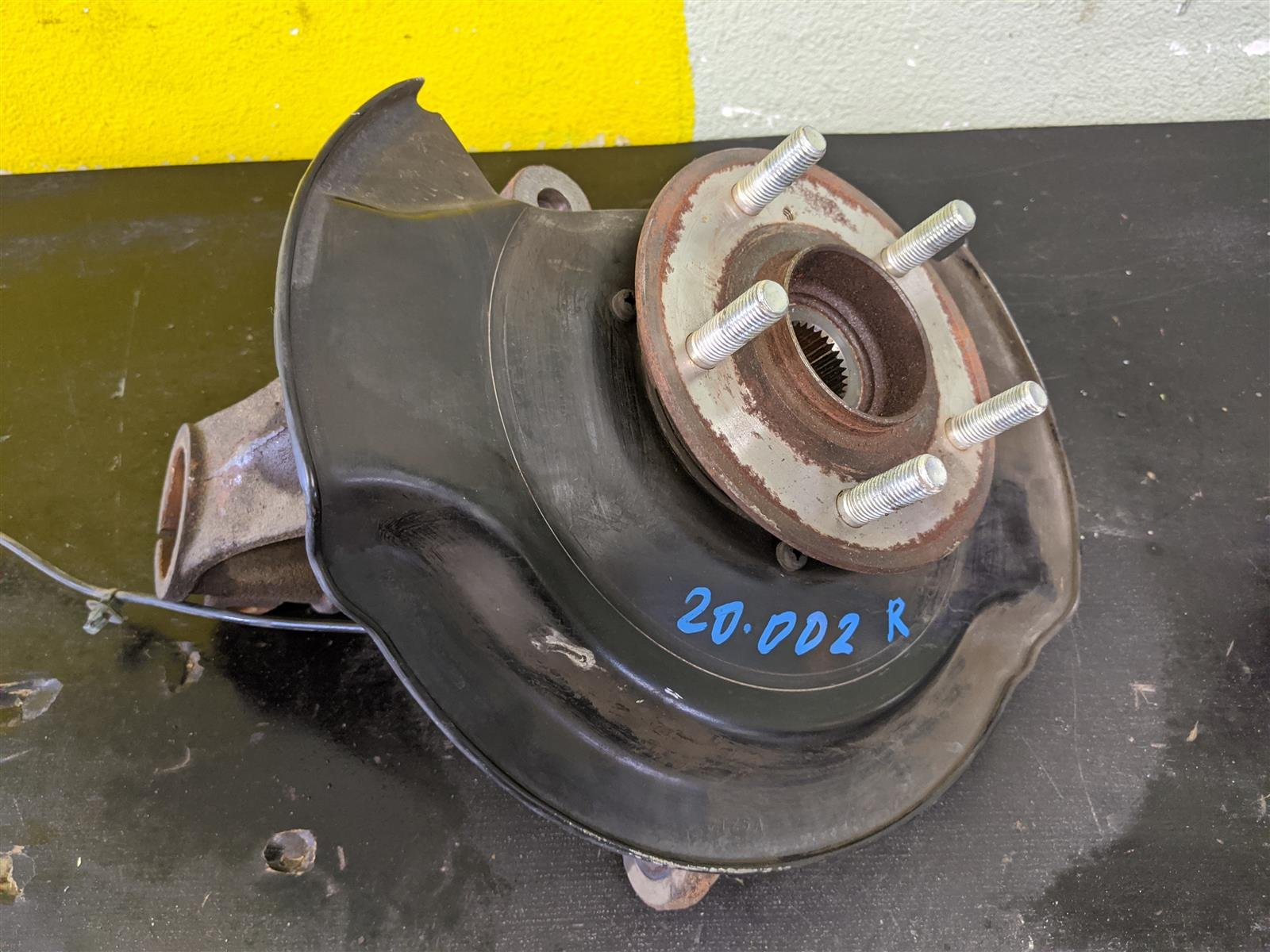 2016 Acura MDX Front Passenger Spindle Knuckle Replacement