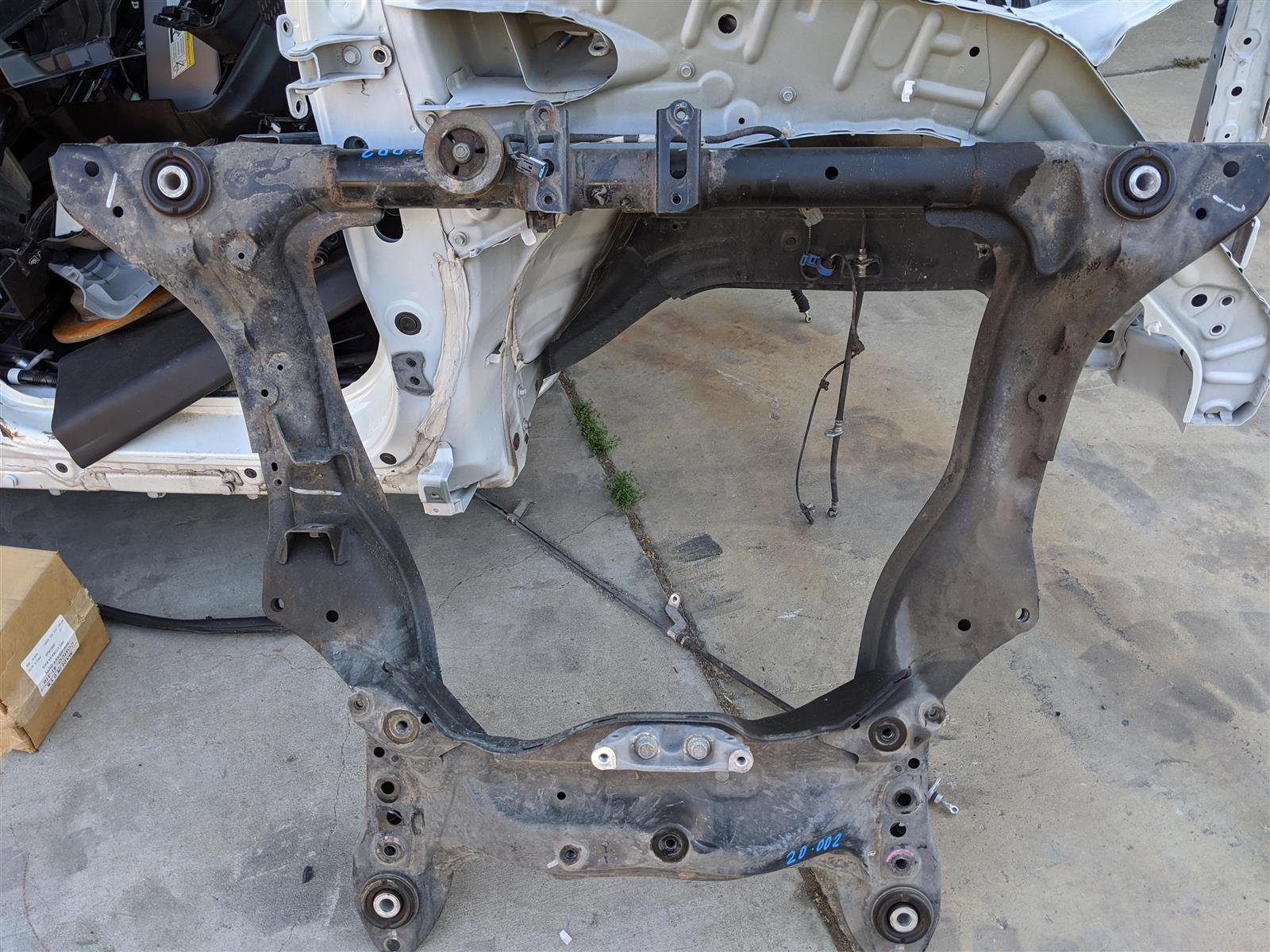 2016 Acura MDX Front Subframe Engine Cradle Replacement