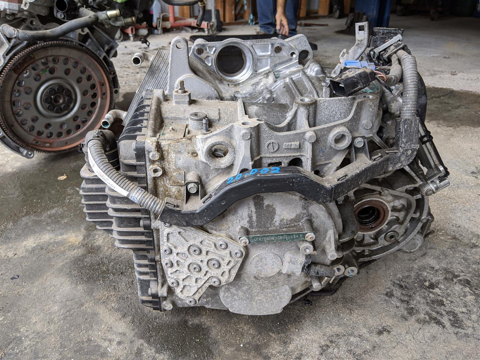 2016 Acura MDX Awd Transmission Replacement