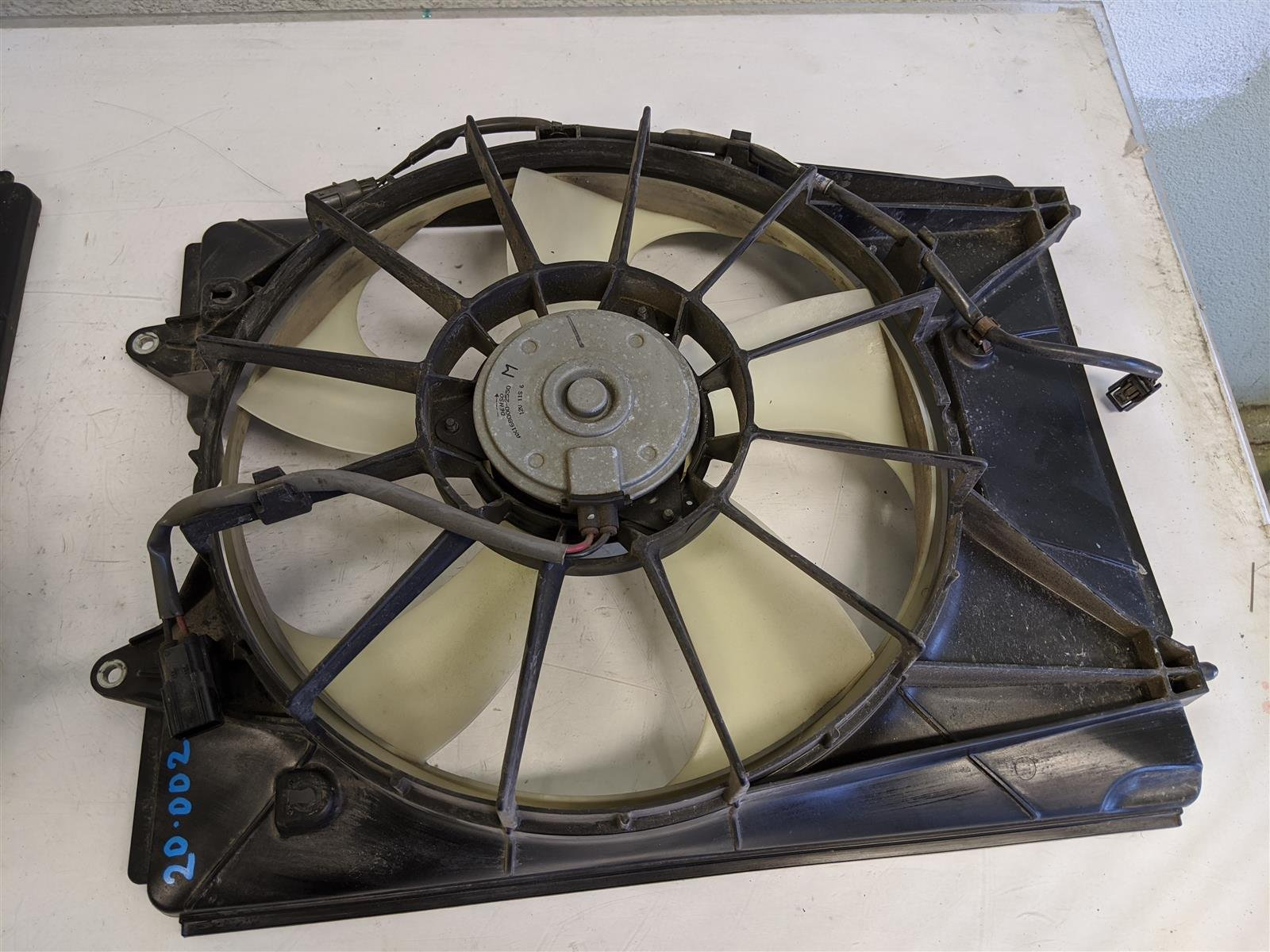 2016 Acura MDX Radiator Fan Assembly Replacement