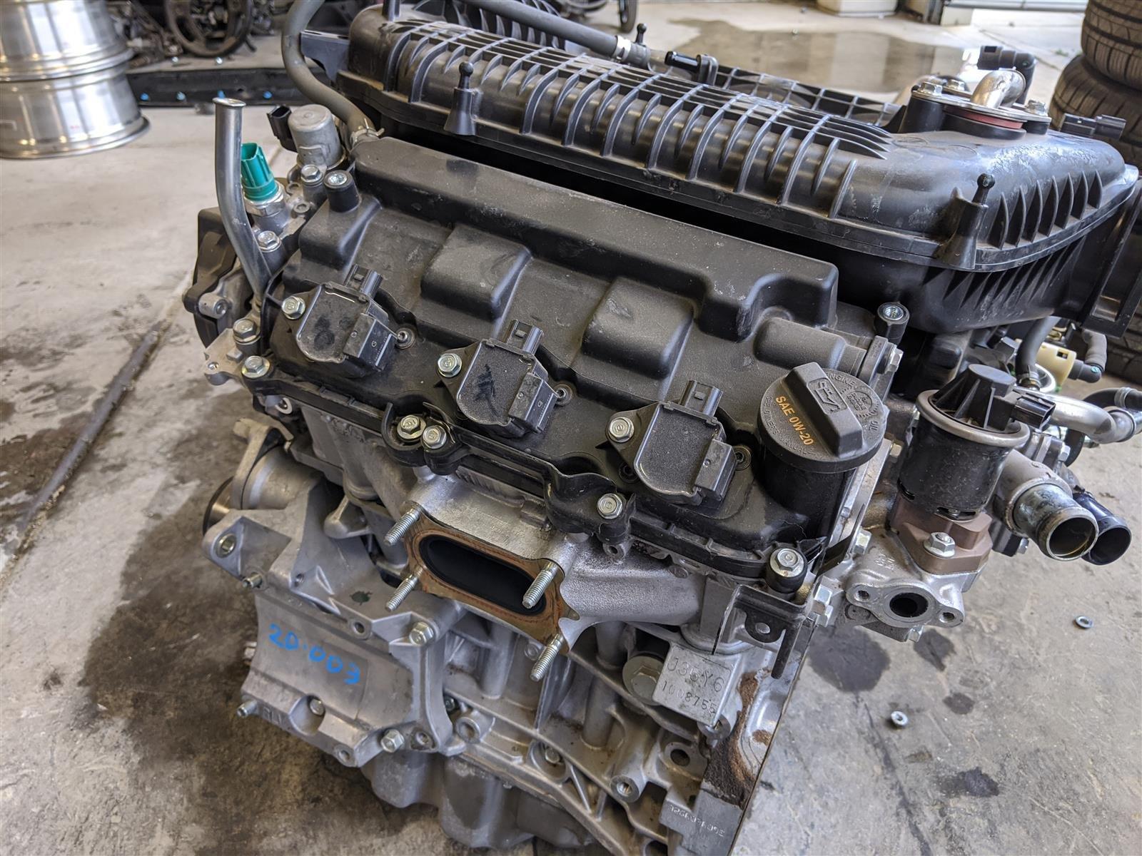 2016 Honda Pilot 6 Speed 2wd Engine Longblock Replacement