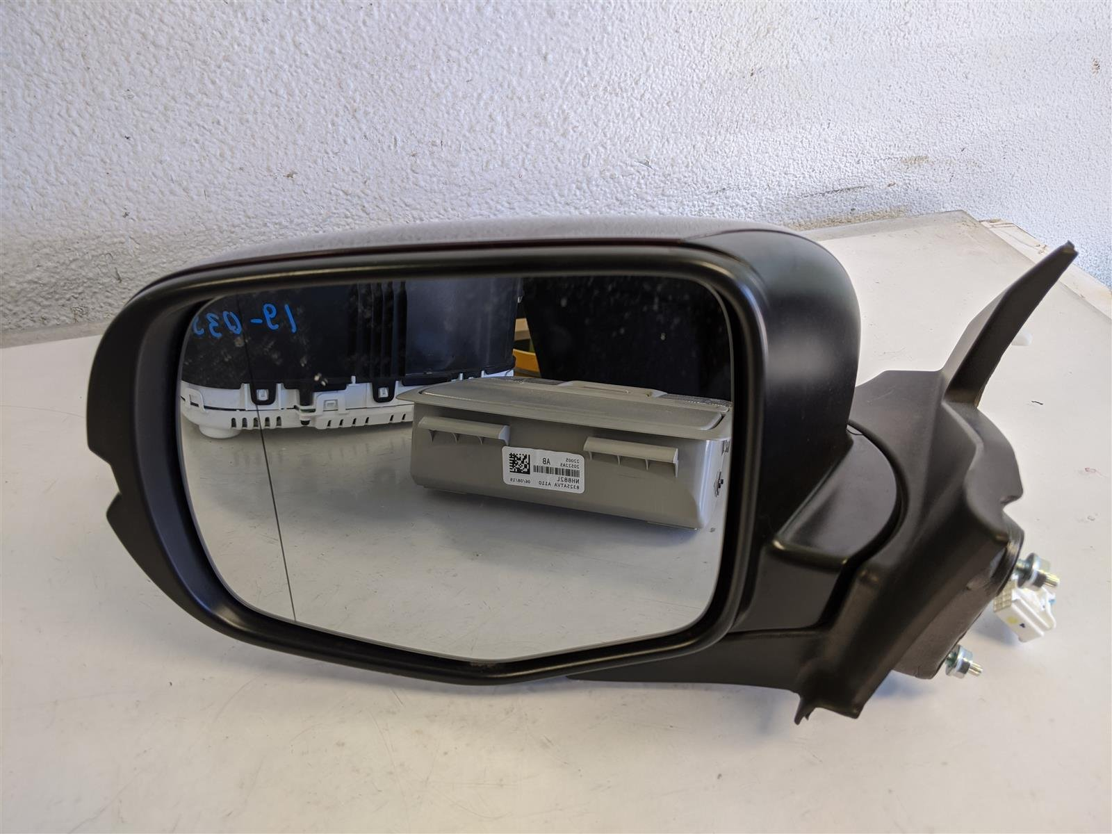Sold 2016 Honda Pilot 2wd Driver Side View Mirror Red Replacement