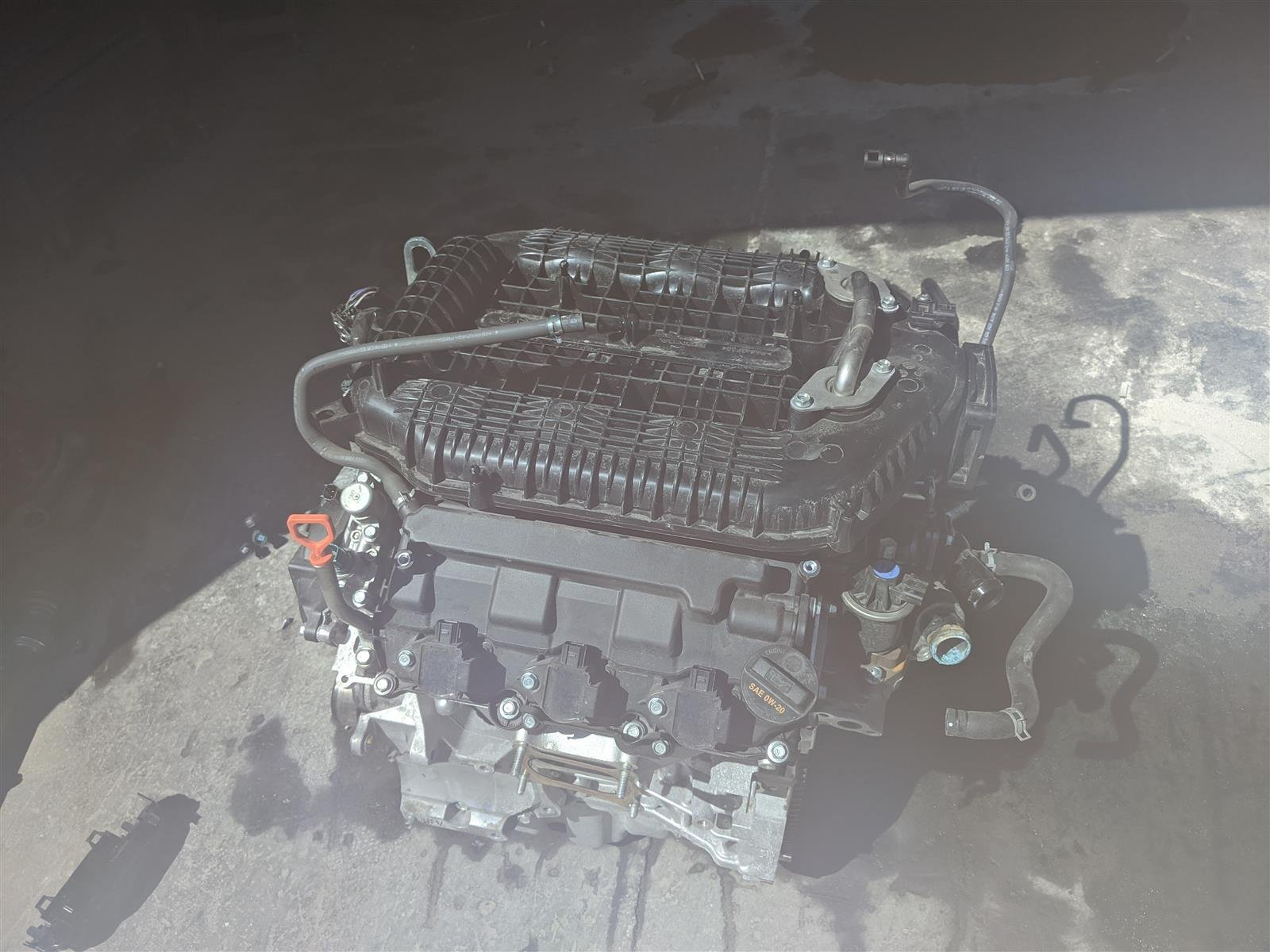 2018 Honda Pilot 9 Speed Engine Longblock 29,000 Mile Replacement
