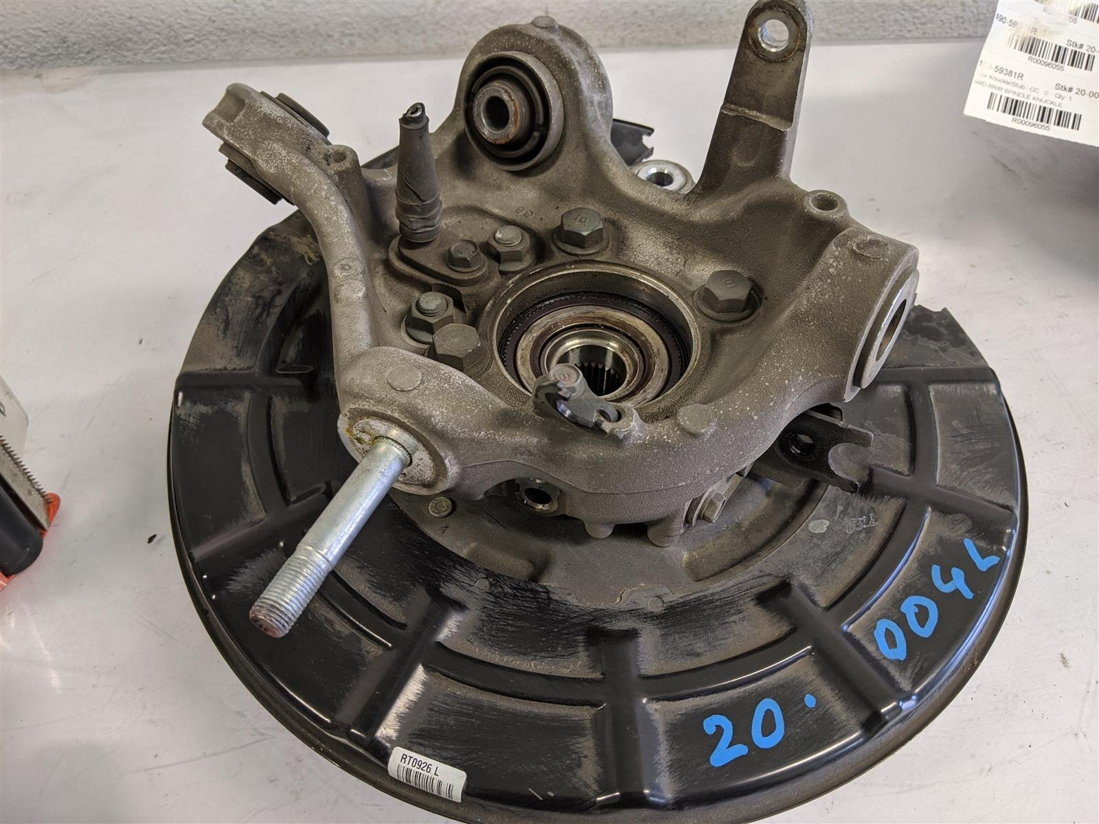2018 Honda Pilot Awd Rear Driver Spindle Knuckle Replacement