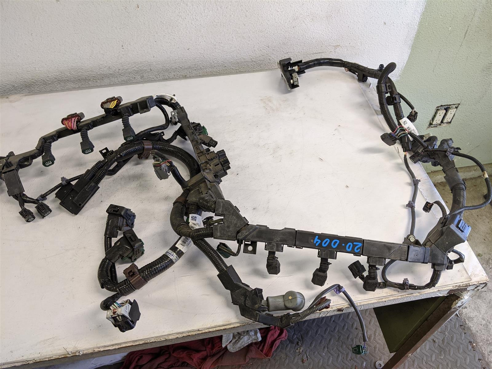 2018 Honda Pilot Engine Wire Harness Replacement