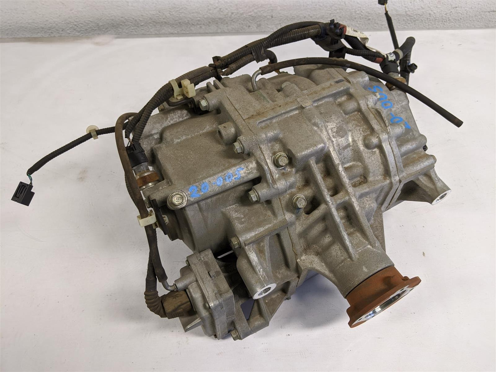 2017 Honda Ridgeline Rear Differential Assy Replacement