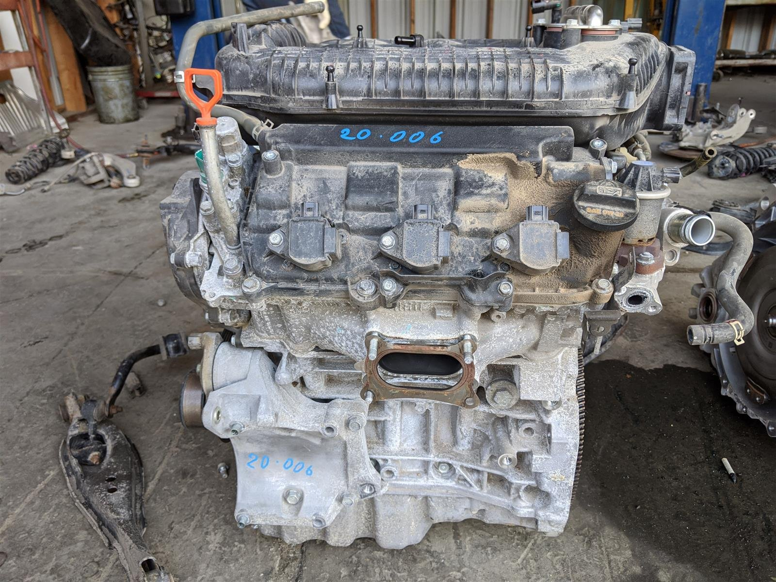 2018 Honda Odyssey Engine Longblock 6mw Replacement