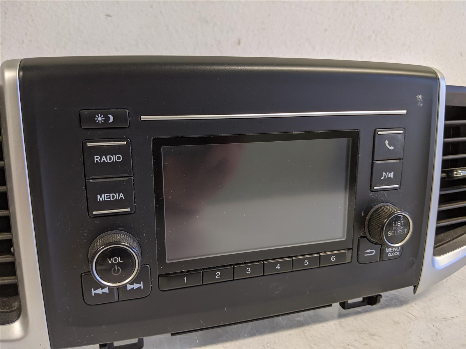 2017 Honda Pilot Lx Am Fm Radio Assembly Replacement