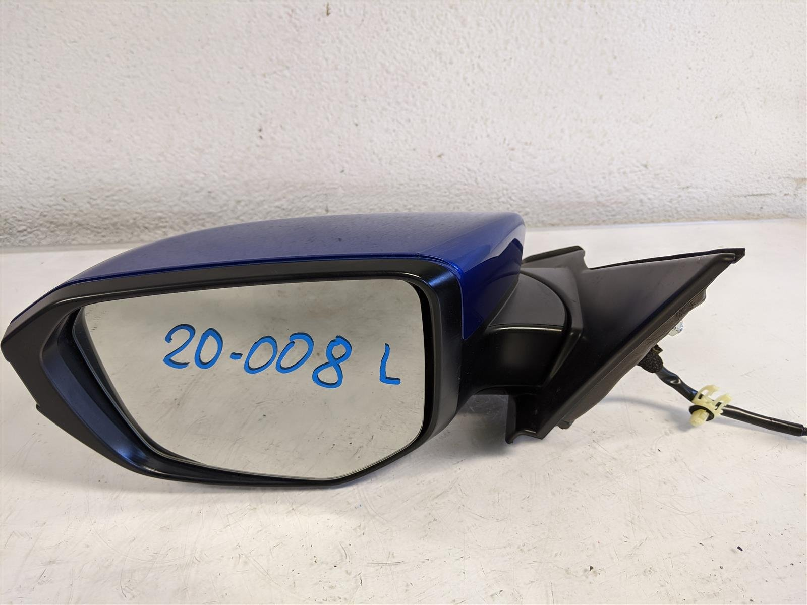 2018 Honda Civic Driver Side View Mirror Blue Replacement