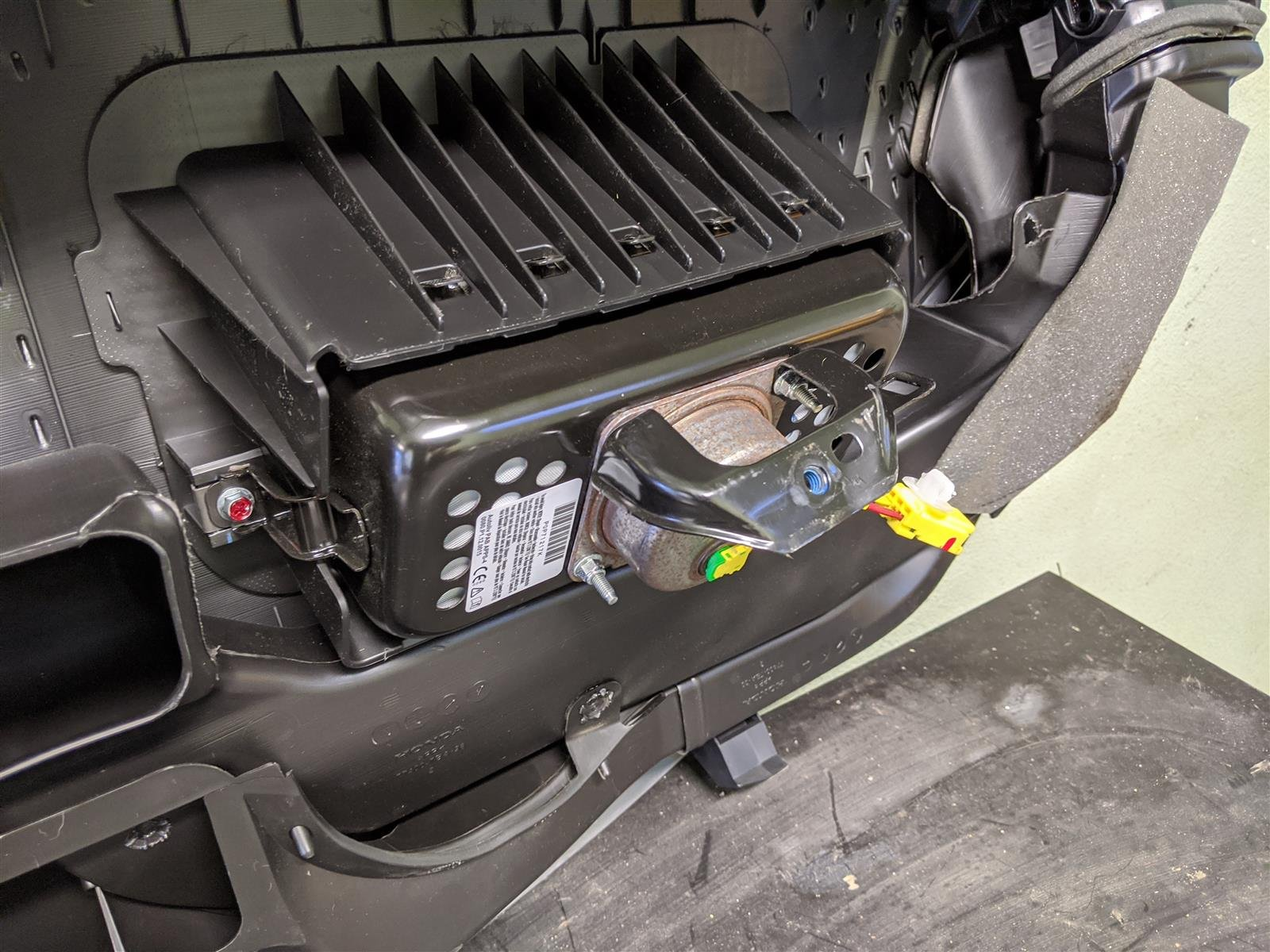 2018 Honda Civic Dashboard With Airbag Replacement