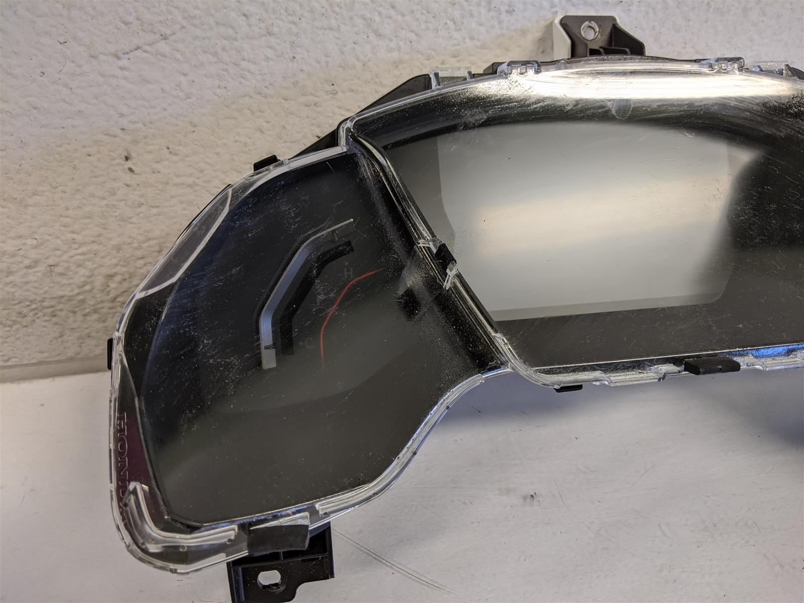 2018 Honda Civic Si Speedometer Cluster Replacement