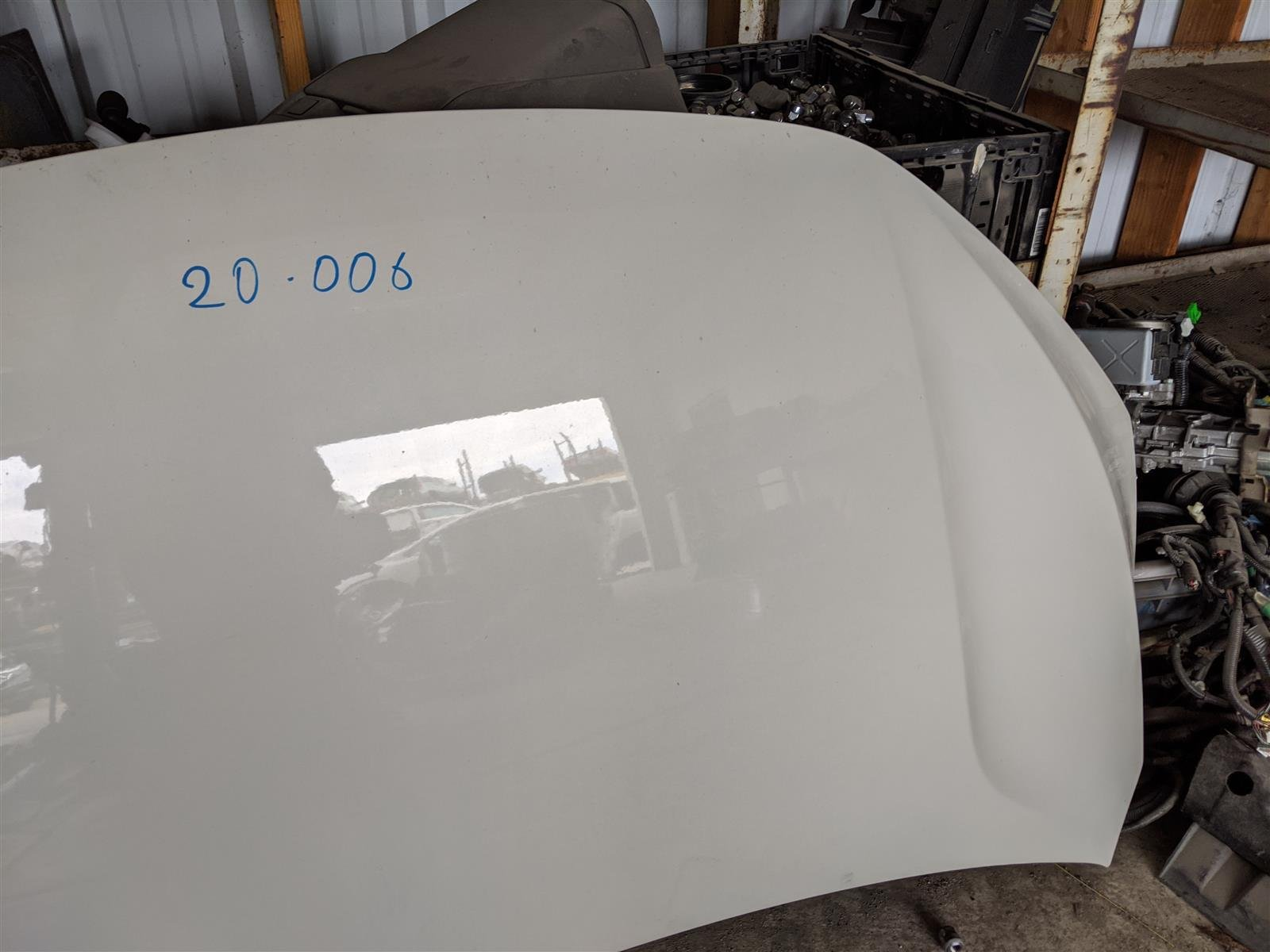 2018 Honda Odyssey Hood White, Dings Replacement