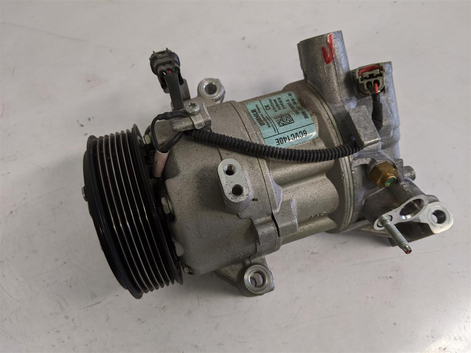 2018 Honda Civic 1.5l Ac Compressor Replacement