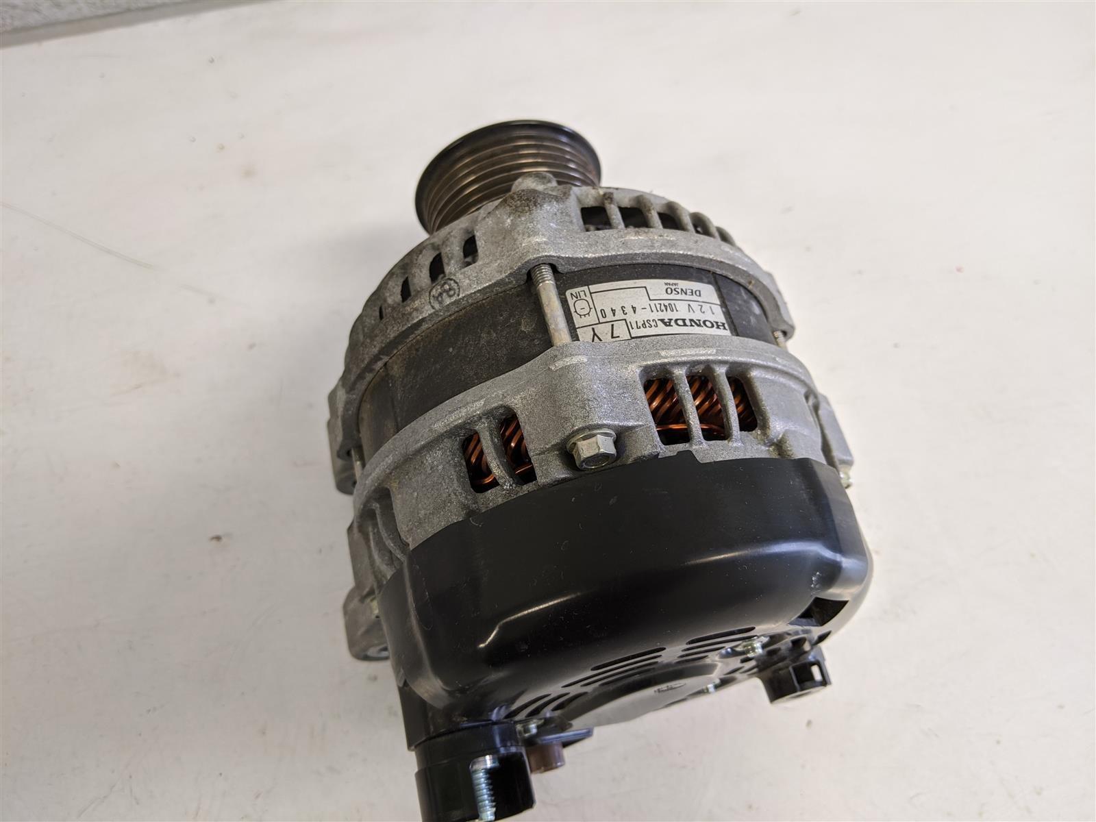 2018 Honda Civic 1,5l Alternator Generator Replacement