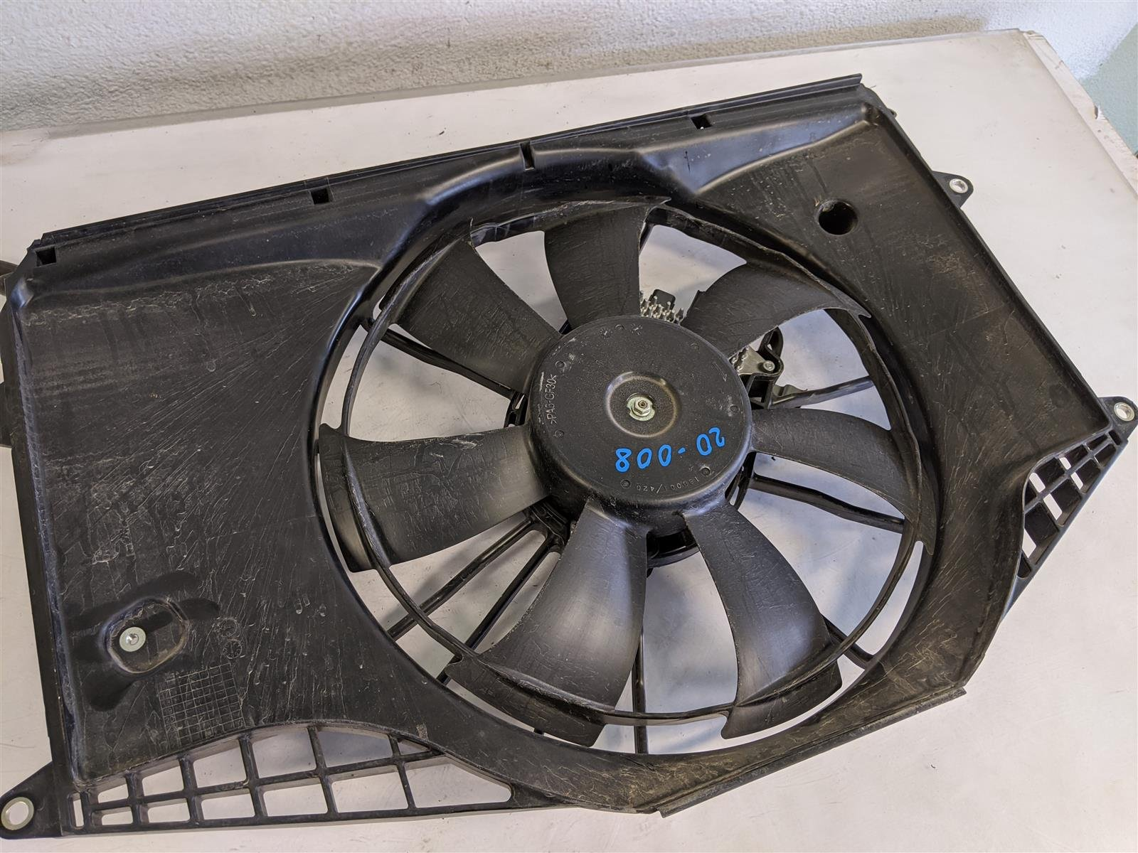 2018 Honda Civic 1.5l Radiator Fan Assembly Replacement