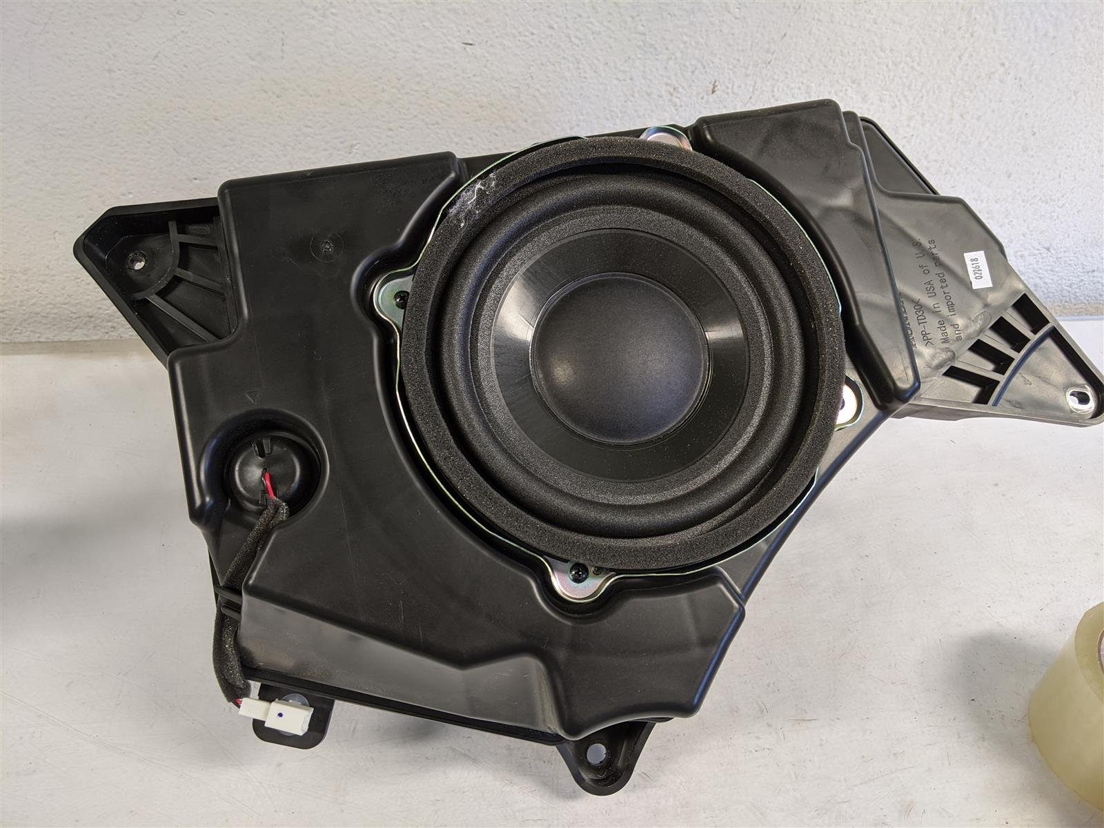 2018 Honda Odyssey Subwoofer Speaker Replacement