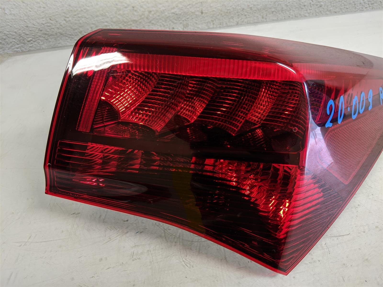 2017 Acura TLX Passenger Tail Light Lamp Quarter Mounted Replacement