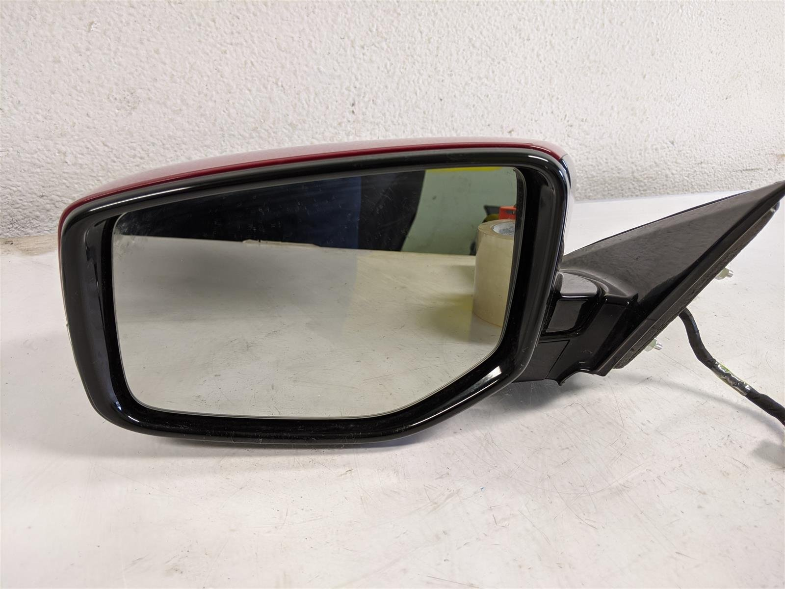 2017 Acura TLX Driver Side View Mirror Red Replacement
