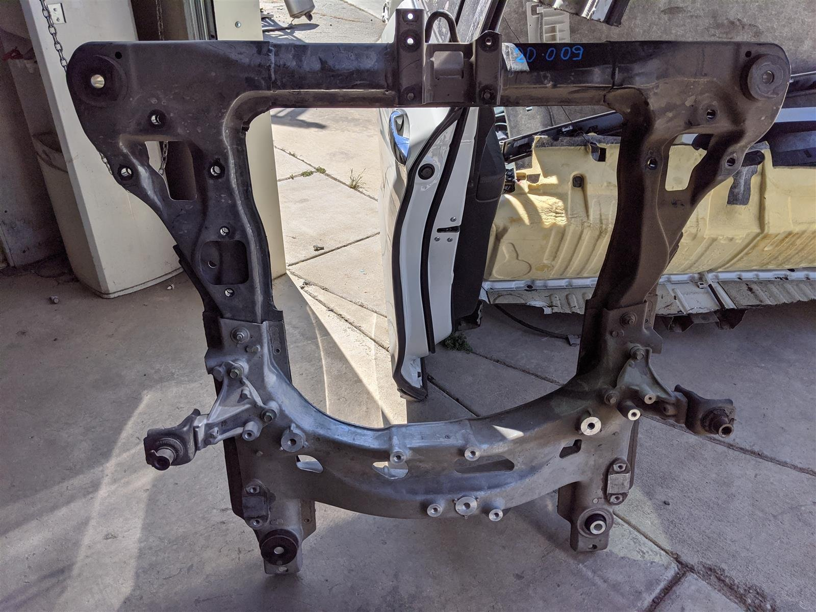 2017 Acura TLX 2.4l Front Subframe Engine Cradle Replacement