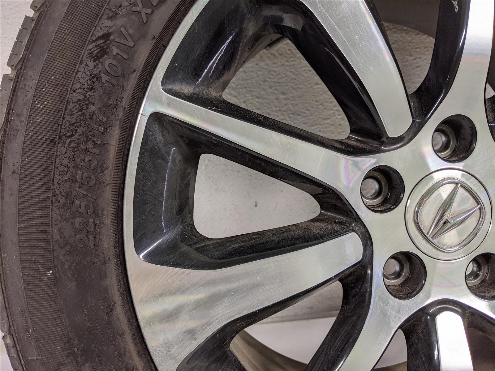 2017 Acura TLX 17 Inch Alloy Wheel Rim Replacement