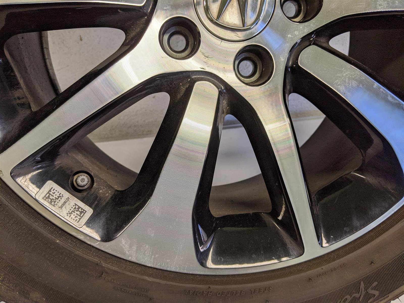 Sold 2017 Acura TLX 17 Inch Alloy Wheel Rim Replacement