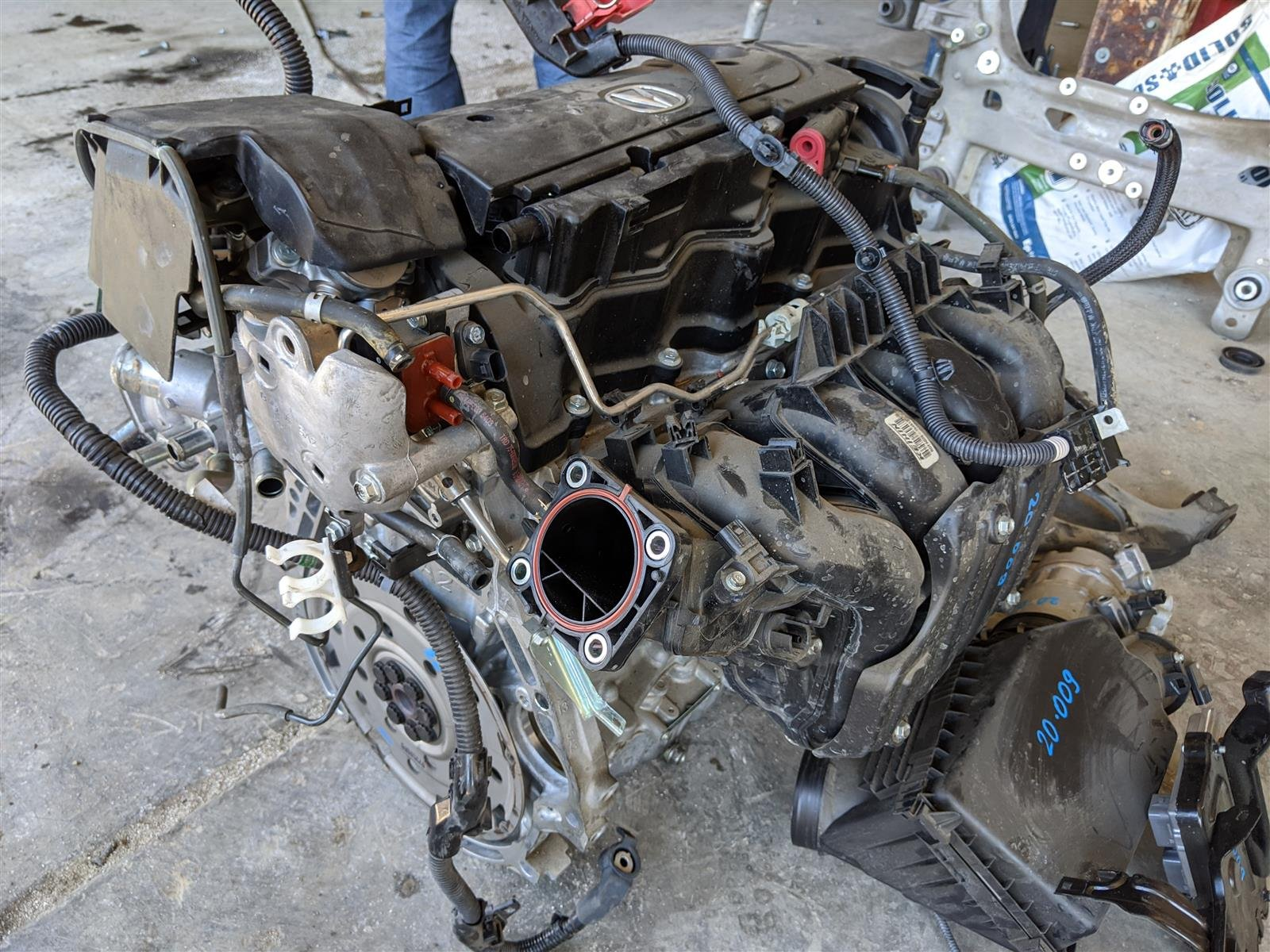 2017 Acura TLX 2.4l Engine Longblock 42,000 Miles Replacement