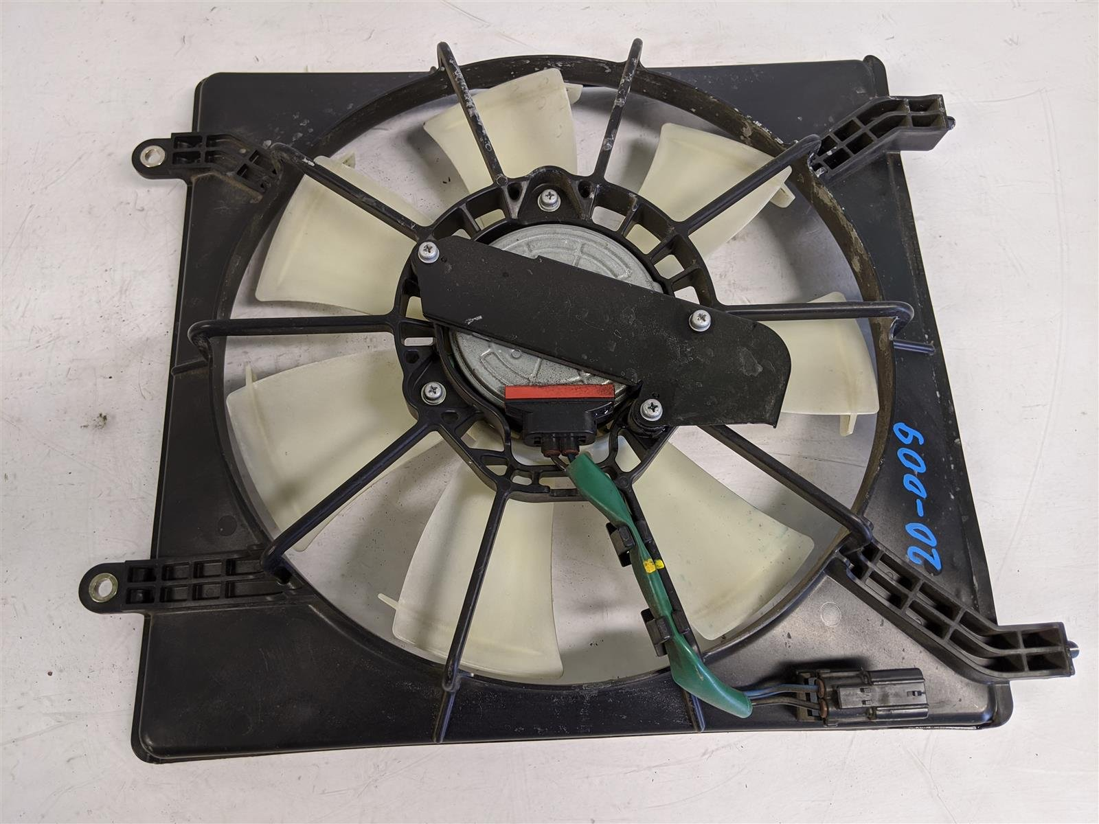 2017 Acura TLX 2.4l Passenger Ac Condenser Fan Assembly Replacement