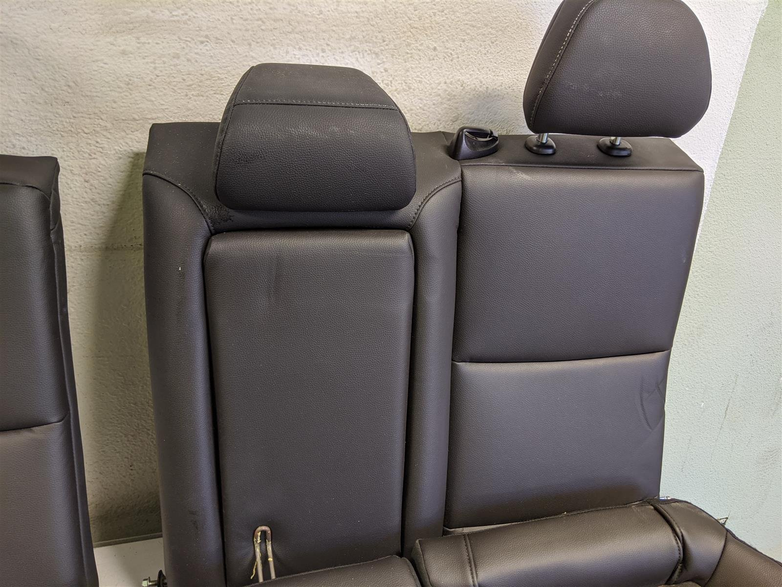 2017 Acura TLX Rear Seats Assembly Black Replacement